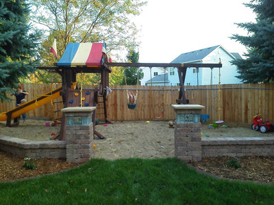outdoor play area landscaping sioux falls