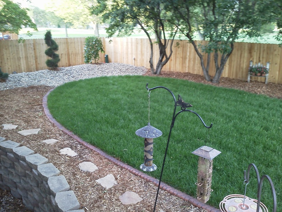 landscaping sioux falls mulch and edging