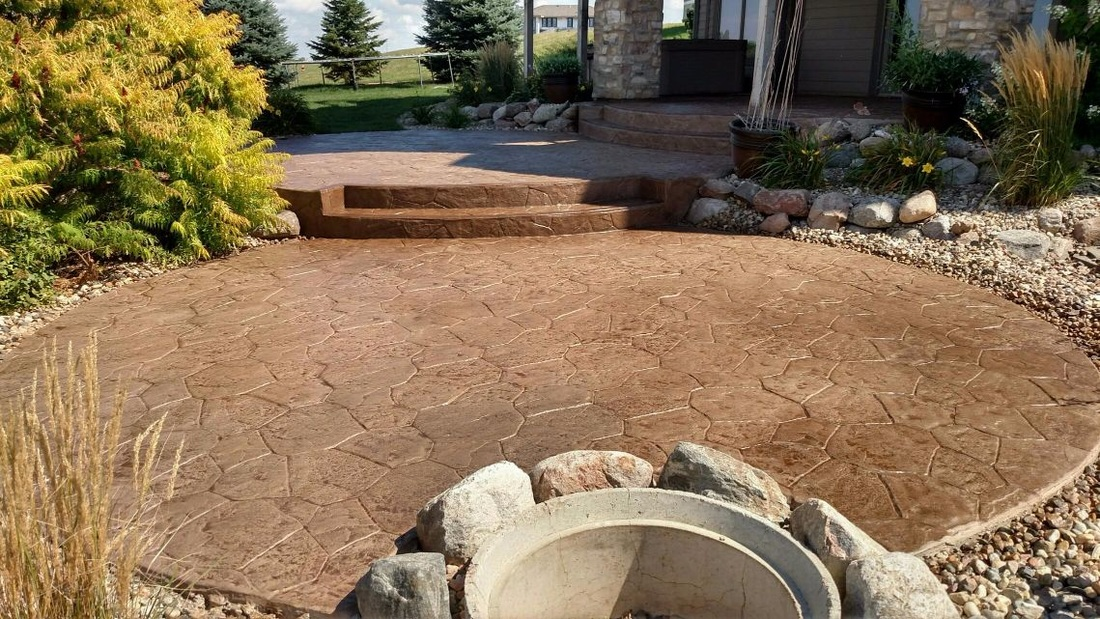concrete overlay patio sioux falls sd
