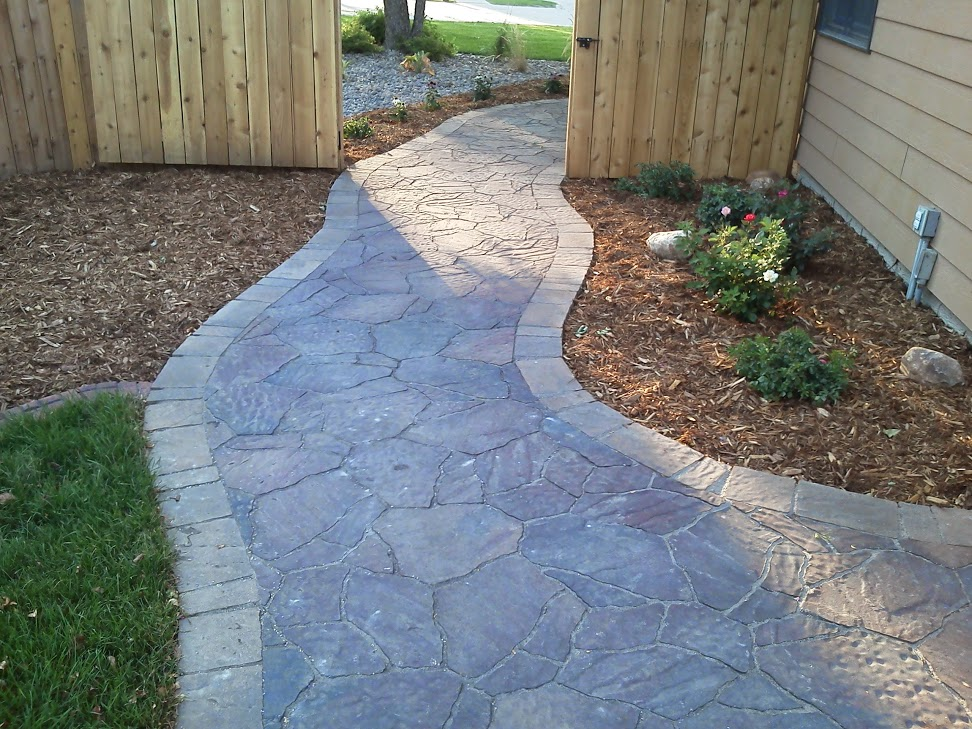 landscaping company sioux falls paver walkway